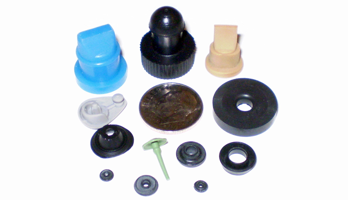 Collection of Micro Parts – FKM, Viton, EPDM, Nitrile, Urethane, Neoprene