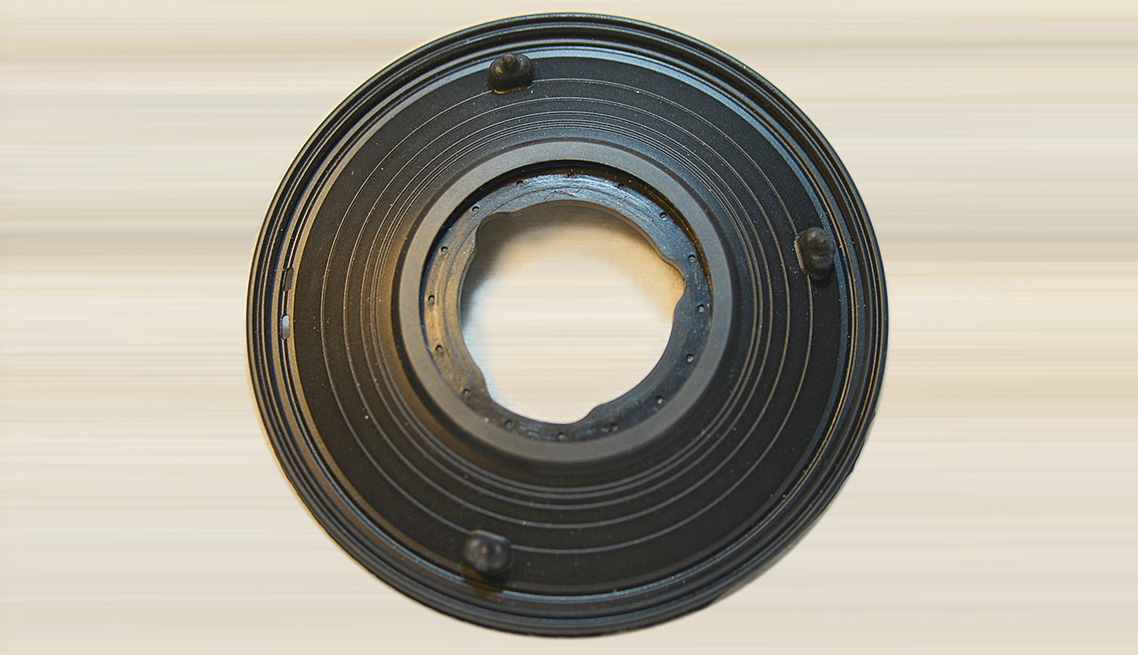 70 Durometer EPDM – Brass Overmolded By-Pass Diaphragm