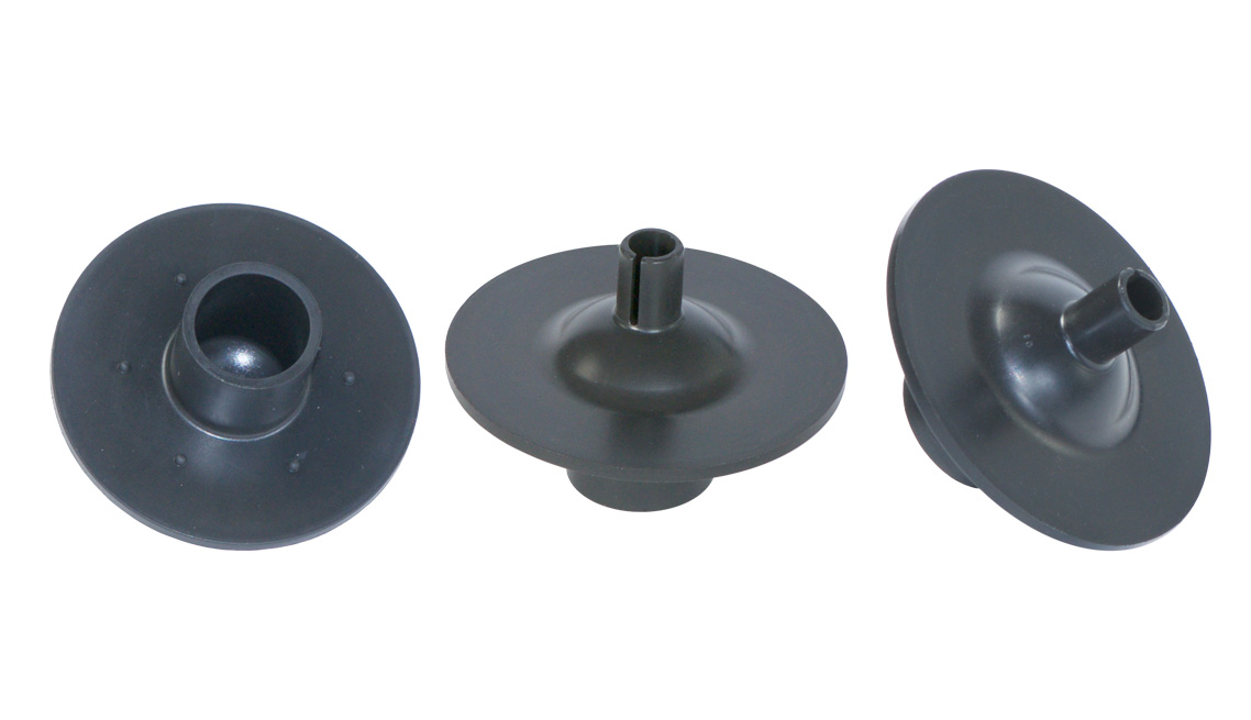 Ultra Low Swell in Gas, High ACN Nitrile Internal Gas Cap Packing, Low Waste Flashless Molded, 10 Million in Service!