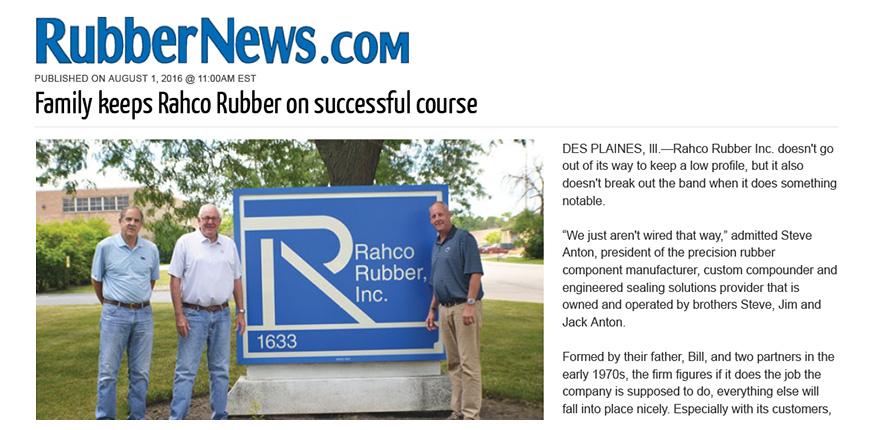 Precision Rubber Molding