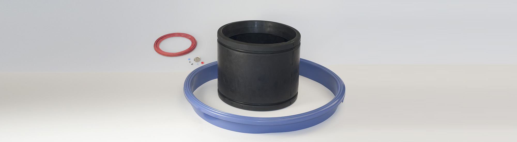 Rubber Molding wide range of sizes