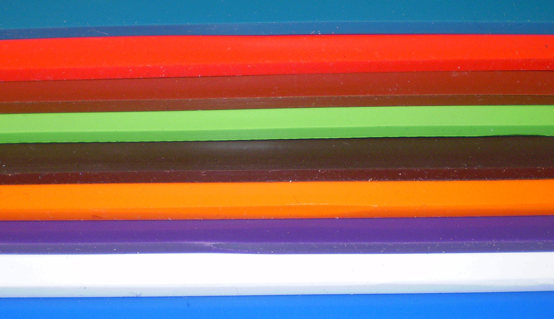 Custom Color Matching EPDM, Nitrile, Neoprene, Silicone, FKM