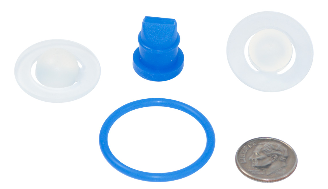 NSF Approved Food Grade Silicone Critical Dispensing Seals, Diaphragms, Gaskets