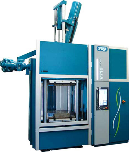 rubber molding machine V710 500T