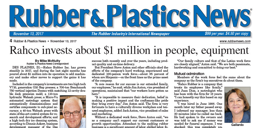 Rubber & Plastic News 11/13/17 Page 4